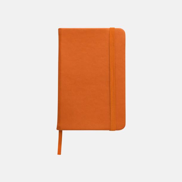 Orange Färgglada anteckningsböcker med tryck