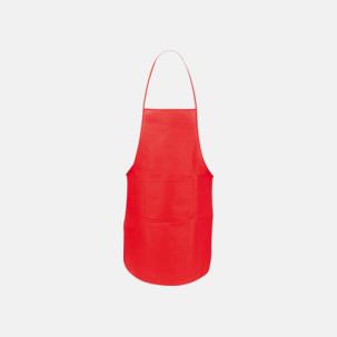 Billiga förkläden i många färger - med reklamtryck