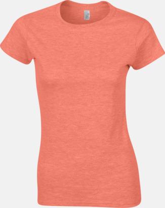 Heather Orange Billiga t-shirts med tryck