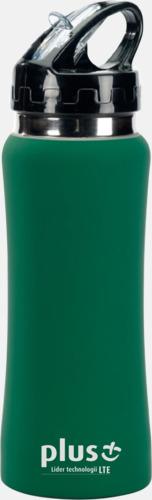 Grön Vattenflaskor i många färger - med reklamtryck