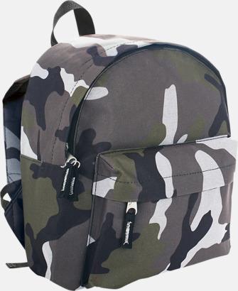Camo (se tillval) Juniorryggsäckar med reklamtryck