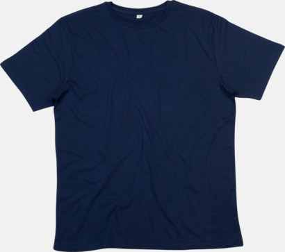 Nautical Navy Ekologiska t-shirts i herrmodell med reklamtryck