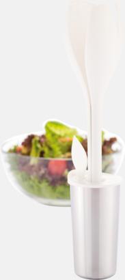 Salladsbestick med dressingsskål - med reklamtryck