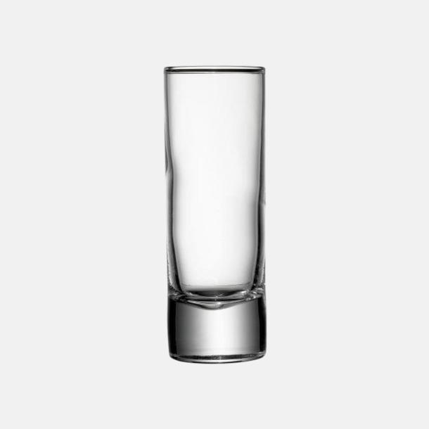 Transparent 6 cl-snapsglas med reklamtryck