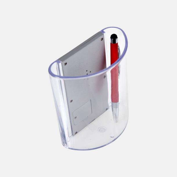 Multifunktionspennhållare med tryck