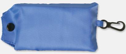 Ljusblå Trendig, vikbar väska med belt-clip