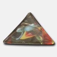 Triangle Reflexklisterlapp med reklamtryck