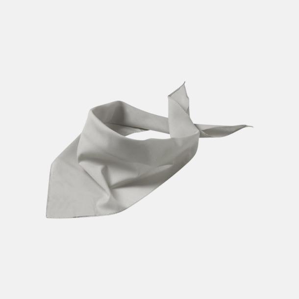 Ljus grå Billiga scarfar med reklamtryck