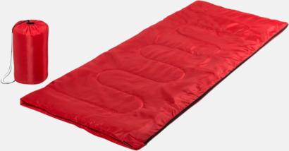 Röd Sovsäckar med reklamtryck