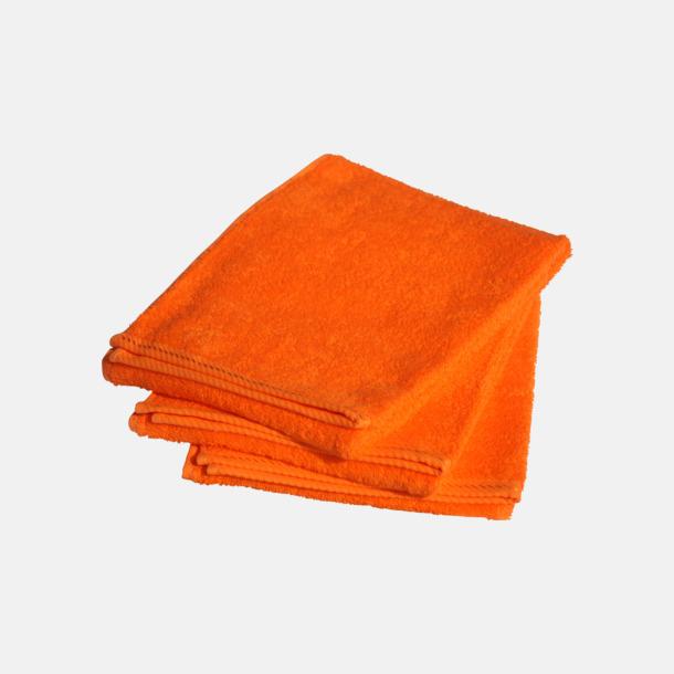 Bright Orange Mindre bomullshanddukar i många färger med reklambrodyr