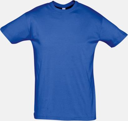 Royal Blue Billiga herr t-shirts i rmånga färger med reklamtryck