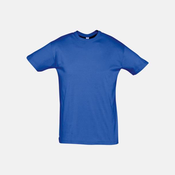 Royal Blue Billiga unisex t-shirts i många färger med reklamtryck