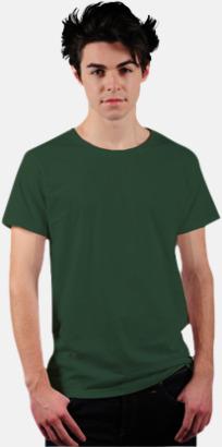 Racing Green Eko t-shirts i Fairtrade-bomull med reklamtryck