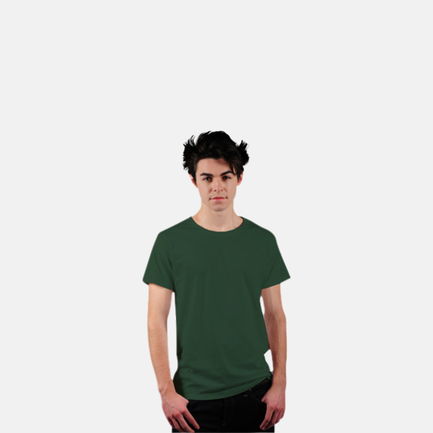 Racing Green Eko t-shirts i Fairtrade-bomull med reklamtryck