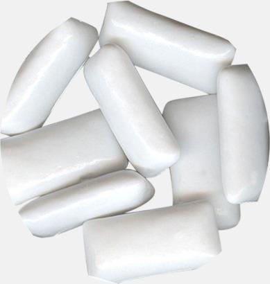 Sockerfria tuggummin (mint) Tablettboxar i 2 storlekar - med reklamtryck