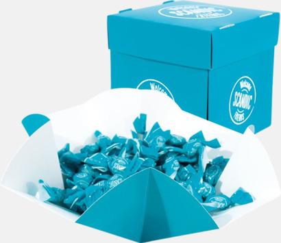 Pappersask (se tillval) Expresskarameller med reklamtryck