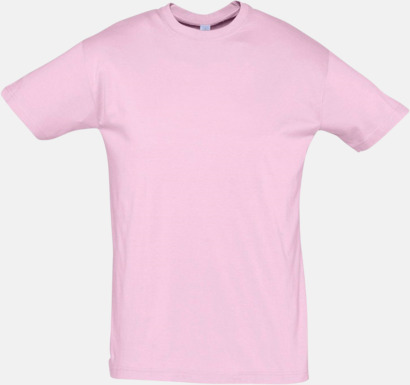 Medium Pink Billiga herr t-shirts i rmånga färger med reklamtryck