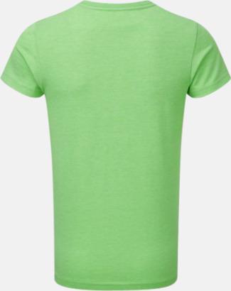 Barn t-shirts i u- och v-hals med reklamtryck