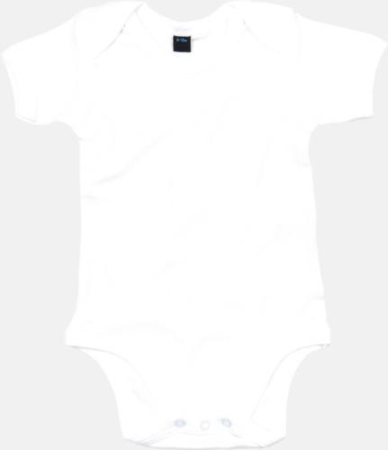 Vit Profilkläder för de allra minsta med tryck