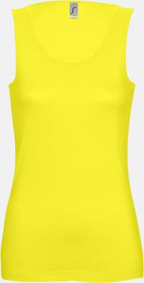Lemon (Dam) Billiga linnen med tryck av egen logo