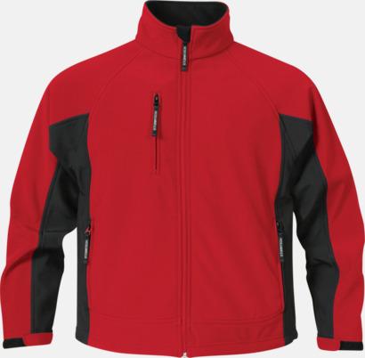 Röd/Svart (herr) Kvalitetsjackor i herr- & dammodell med reklamtryck