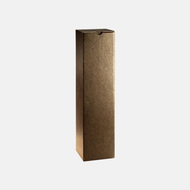 Brun (för 1) Papperskartonger i flera storlekar - med reklamtryck