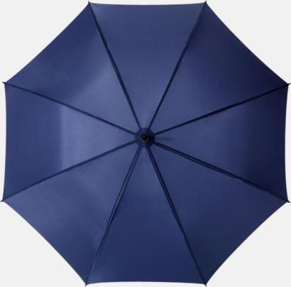 Marinblå Exklusiva Balmain-paraplyer med reklamtryck