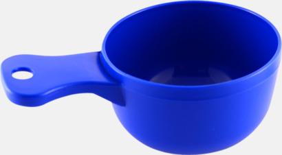 Blå Traditionella drickkåsor med tryck