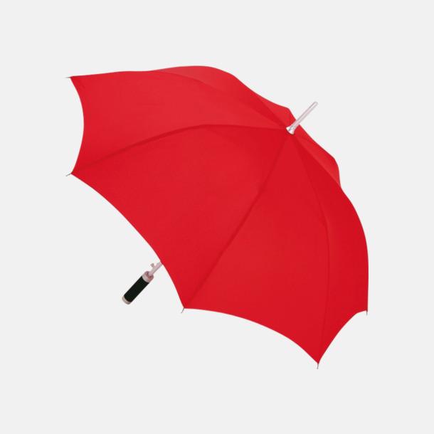 Röd Paraplyer med reklamtryck