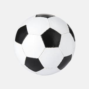 Klassiska fotbollar i många färger med reklamtryck