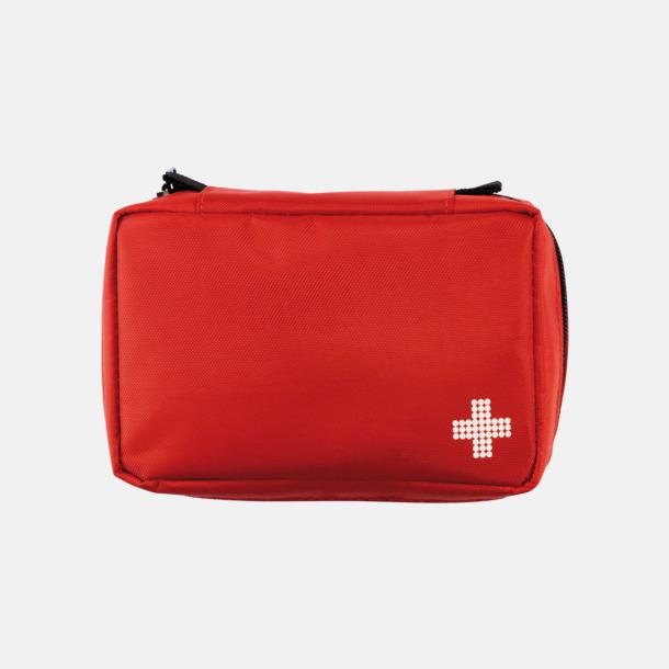 Röd Första Hjälpen Kit Mail Size med eget reklamtryck
