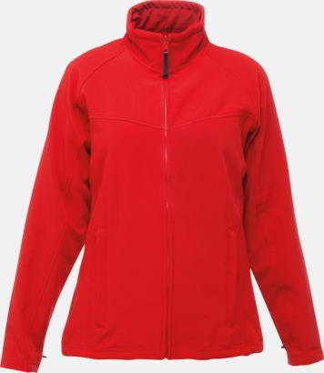 Classic Red/Seal Grey (dam) Soft-shell jackor i herr- & dammodell med reklamtryck