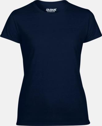 Marinblå Fräshcare funktionströjor med tryck