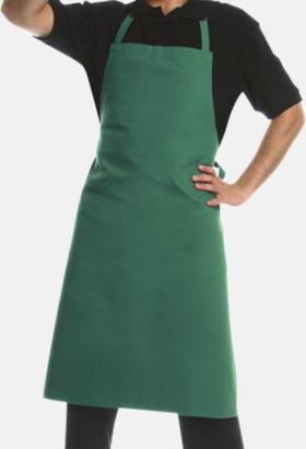 Grön (7726C) Förkläden med eget tryck