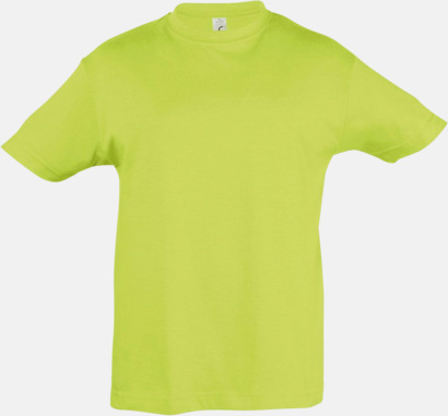 Apple Green Billig barn t-shirts i rmånga färger med reklamtryck