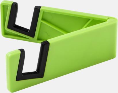 Limegrön Praktiskt ställ för surfplattor och smartphones