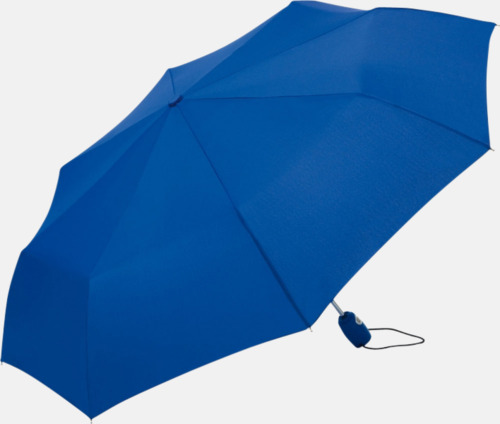 Ljusblå Kompakta paraplyer med eget tryck