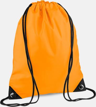 Floucerande Orange Påsar i mängder av färger - Påsar med reklamtryck