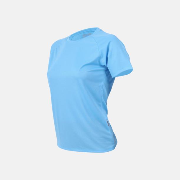Clear blue Sport t-shirts i många färger - med reklamtryck