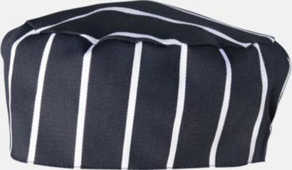 Navy-White Stripe Kockmössor i många färger med reklamtryck