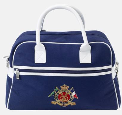 Marinblå/vit Väska från Newport