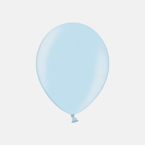073 Light Blue (PMS 277 U) Ballonger i unika färger med eget tryck