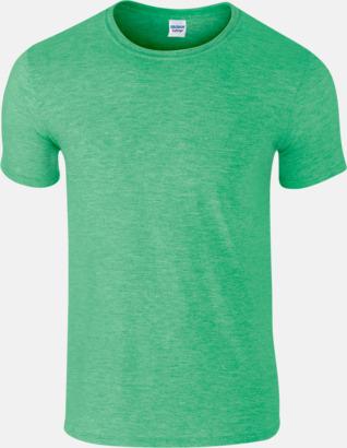 Heather Irish Green Billiga t-shirts med tryck