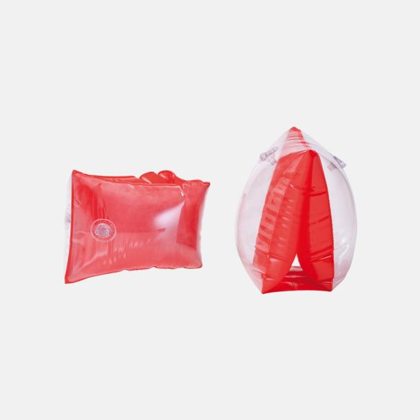 Röd Simpuffar med reklamtryck