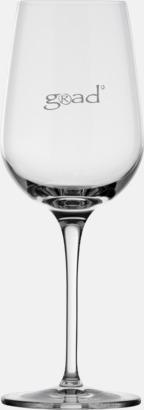 36 cl Vitvinsglas med reklamtryck