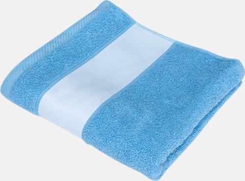 Baby Blue Handdukar i flera storlekar - med sublimeringstryck
