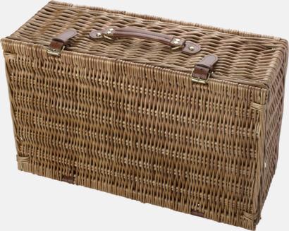 Stående (för 4) Picknickset för 2 eller 4 personer i klassisk form