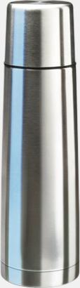 Stålgrå (75 cl) Köldtålig termos med egen gravyr