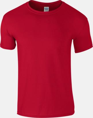 Cardinal Red Billiga t-shirts med tryck