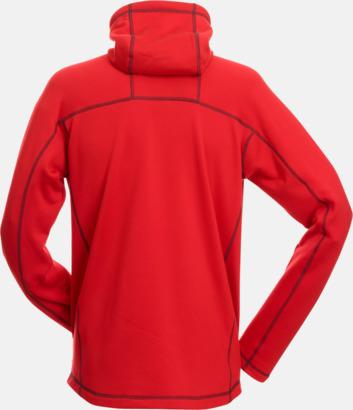 Röd/Carbon rygg (herr) Figursydda herr- & damjackor i fleece med reklamlogo